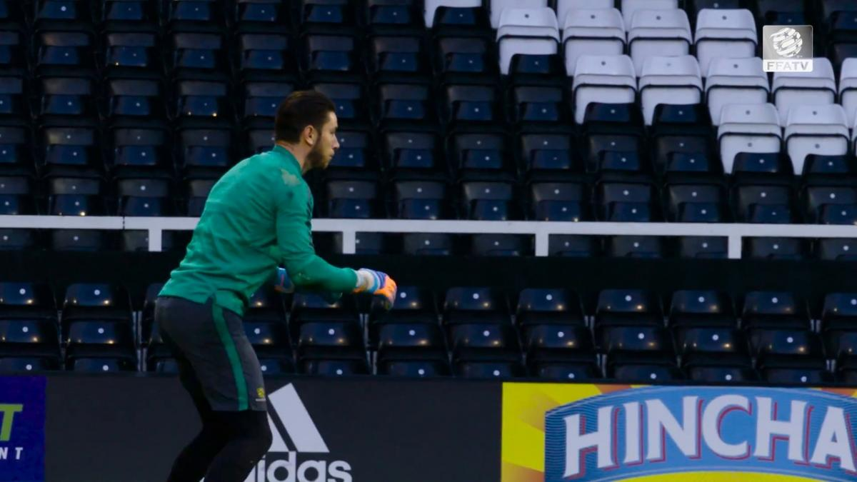 Van Marwijk to rotate keepers for Colombia match