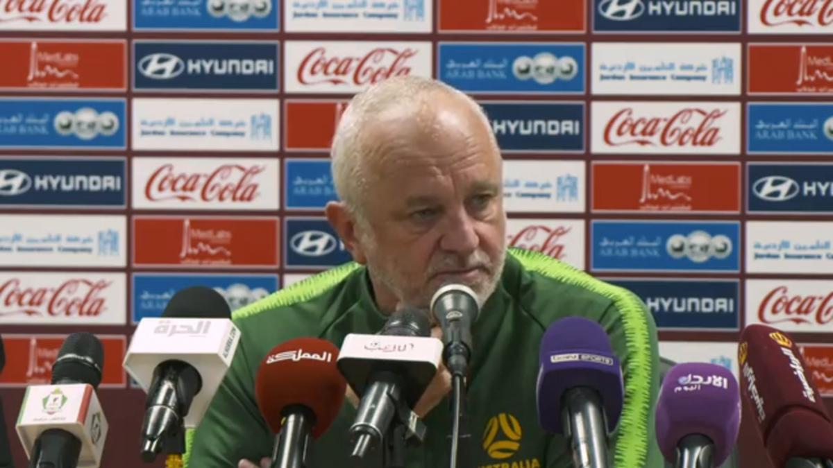 Pre-Match Press Conference: Jordan v Caltex Socceroos
