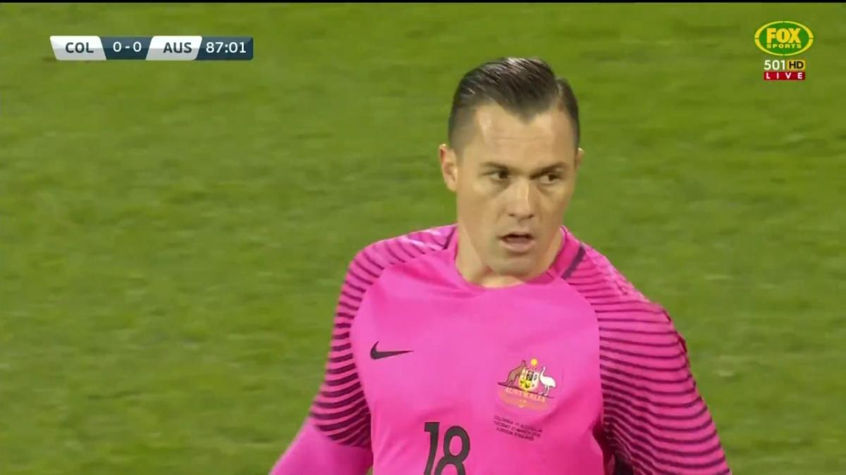 Vukovic stands tall to deny Borja from the spot