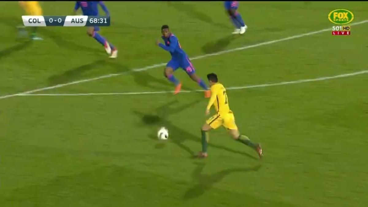 Full-time highlights: Colombia v Australia