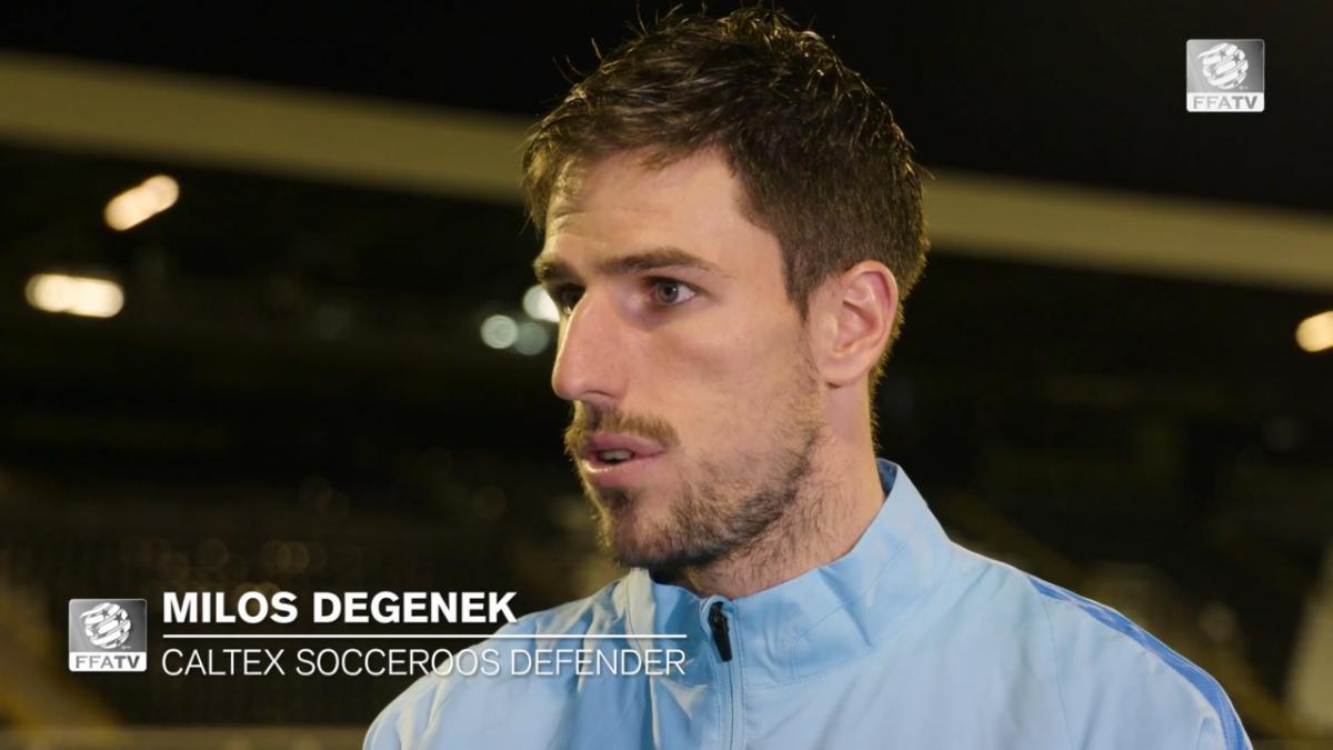 One on One: Milos Degenek