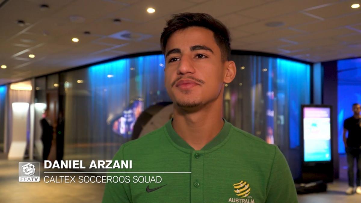 One-on-one: Daniel Arzani on squad inclusion