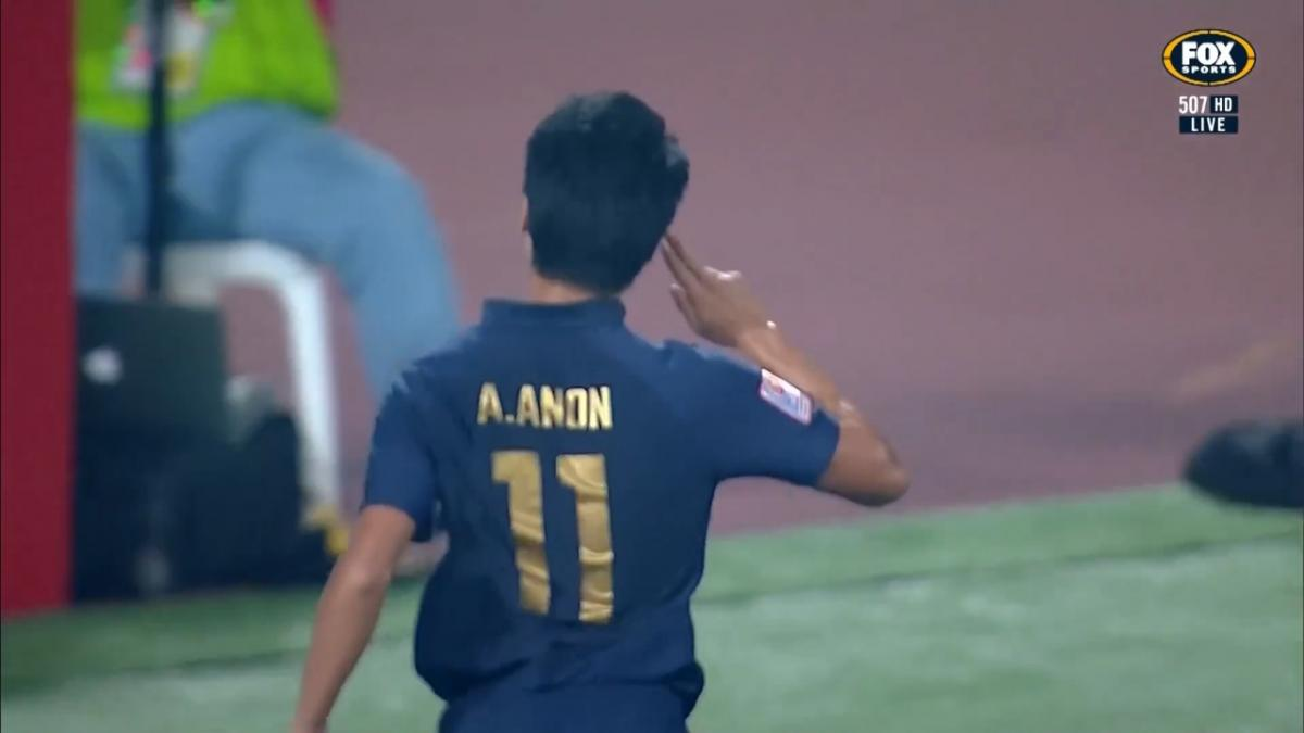 GOAL: Anon - Thailand lead inside half an hour