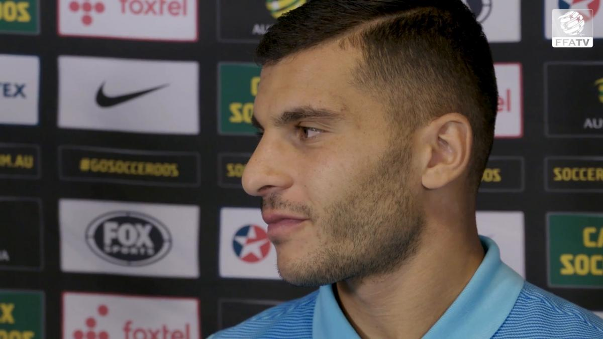 Andrew Nabbout opens up