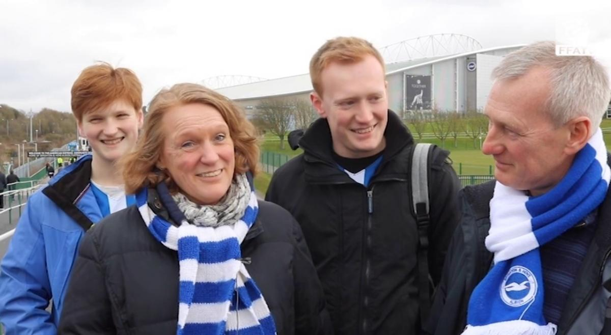 Brighton & Hove Albion fans: Mat Ryan