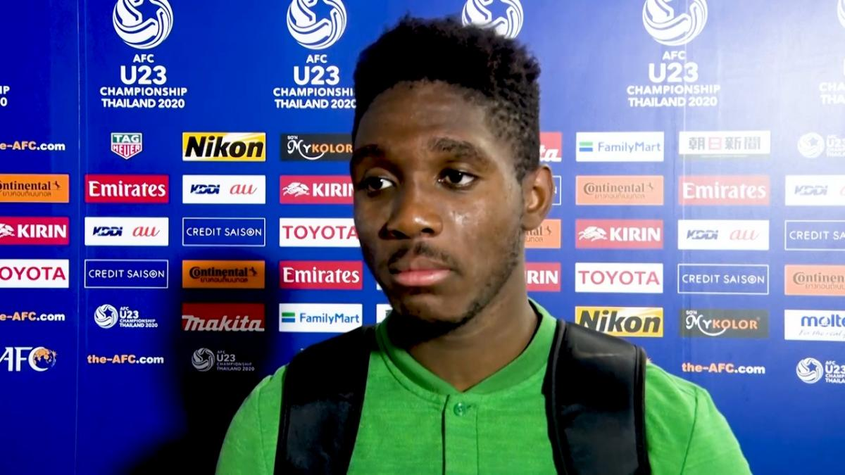 Al Hassan Toure on scoring the winner vs Syria