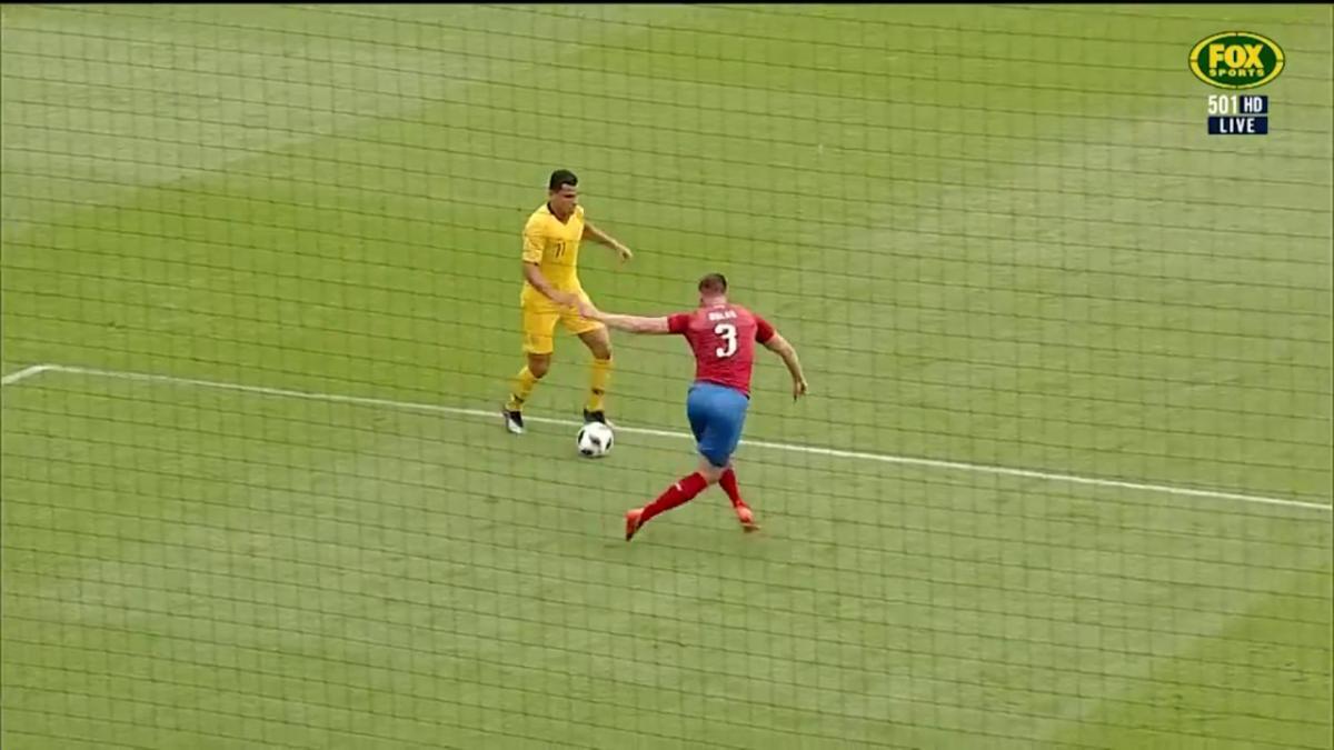 Full time highlights: Australia 4-0 Czech Republic