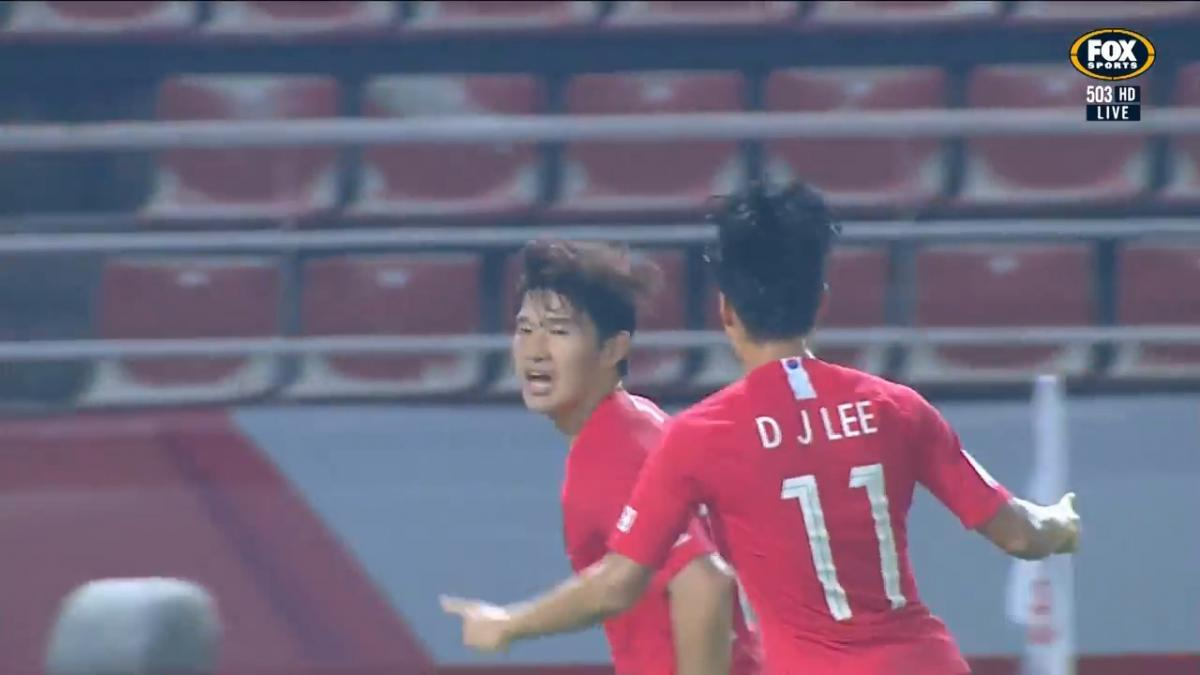 GOAL: Lee - Olympics spot just about confirmed for the Koreans