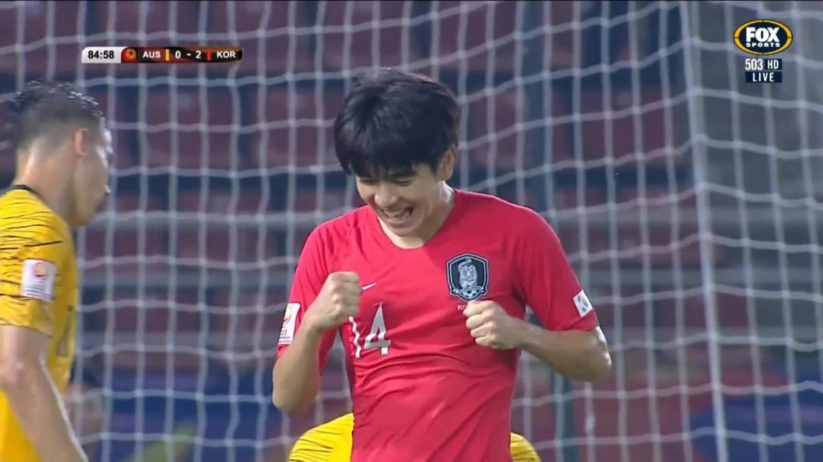 CHANCE: Kim - The first goalscorer at it again