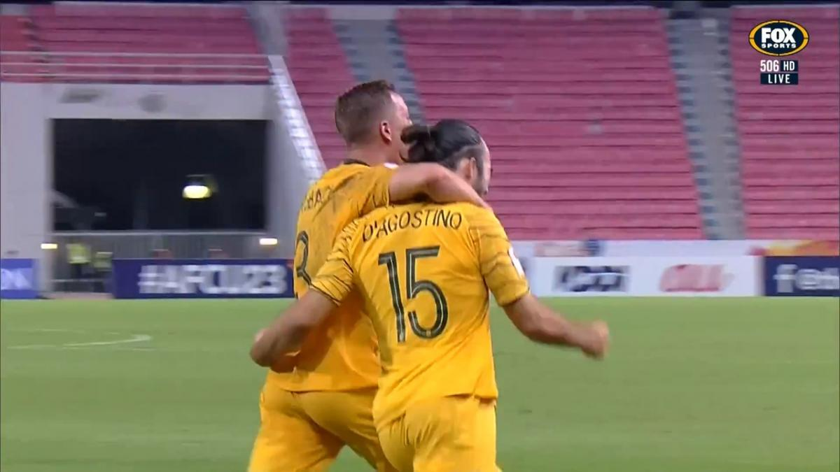 GOAL: D'Agostino - Olyroos lead with some individual brilliance