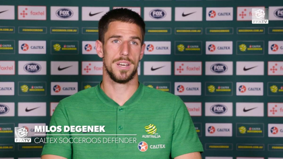 One on one: Milos Degenek - enjoying the hard work