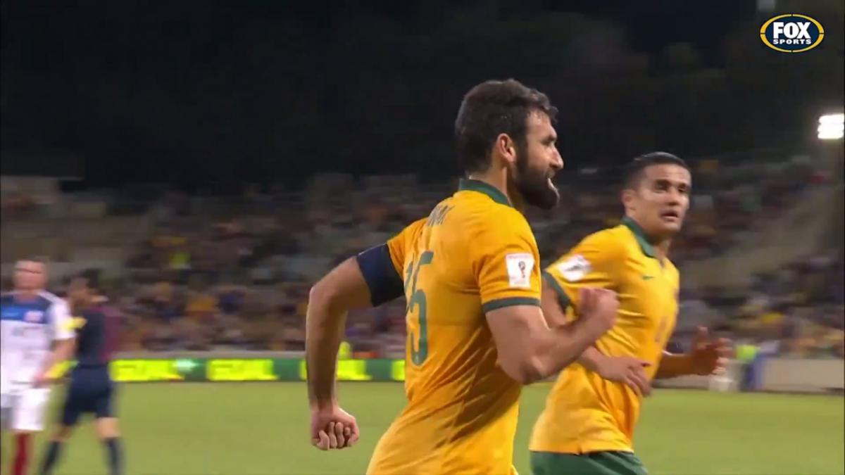 Mile Jedinak World Cup Qualifying goals