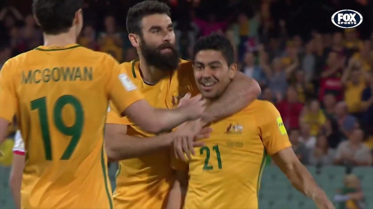 Massimo Luongo World Cup Qualifying goals