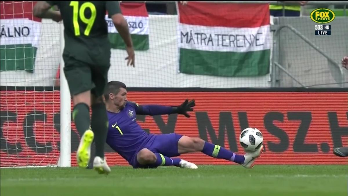 Ryan denies Hungary with stunning save
