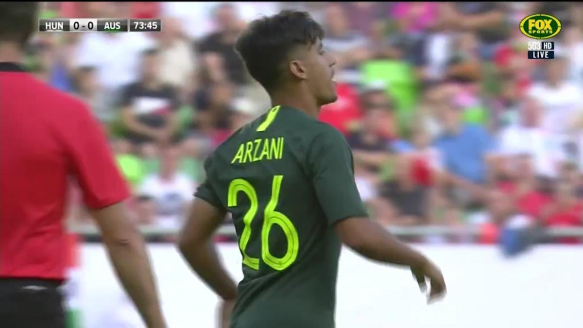 Arzani grabs the opener