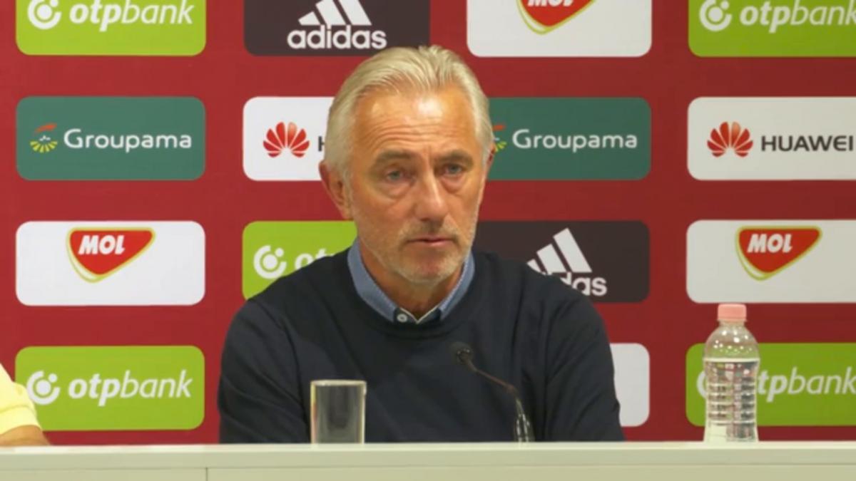 Presser: Bert van Marwijk - Hungary v Australia post match