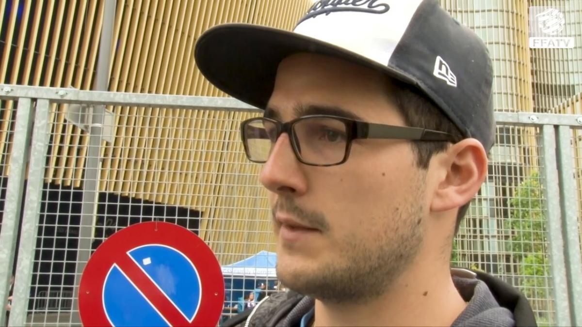 Grasshopper fans: Trent Sainsbury