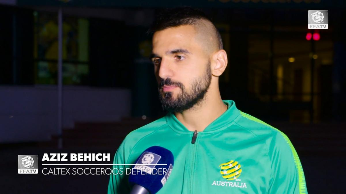 One on one: Aziz Behich