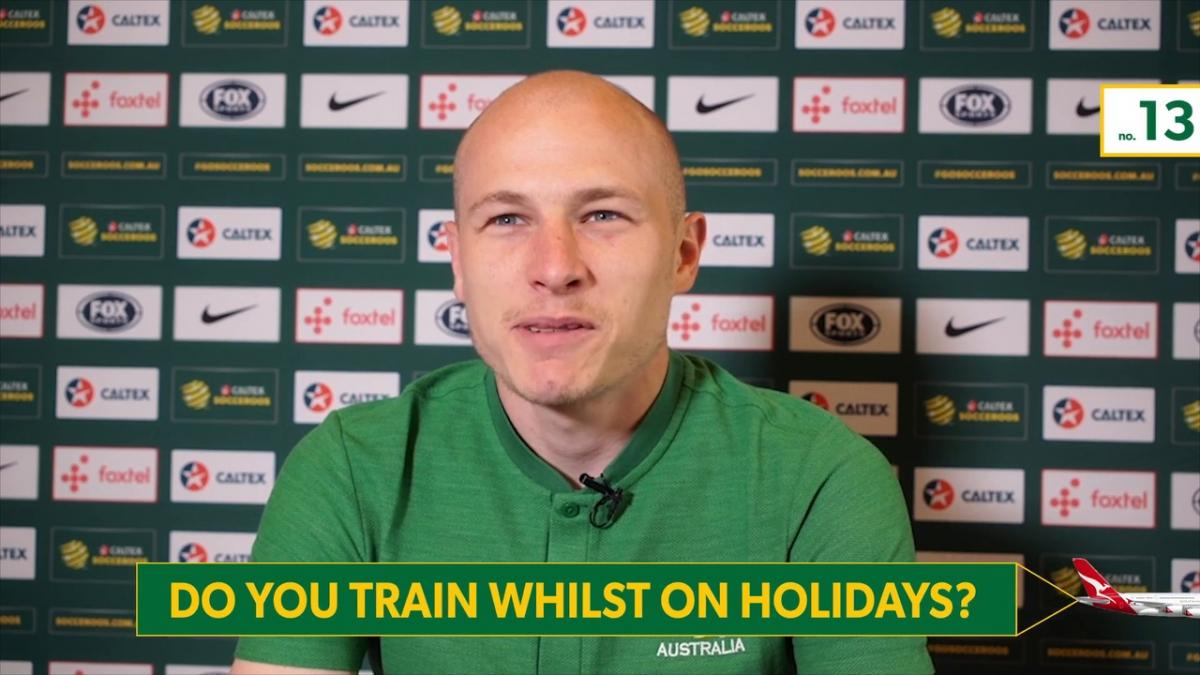 What is your ideal holiday? / do you train whilst on holiday?