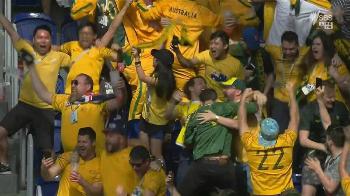 Highlights: Australia v Denmark