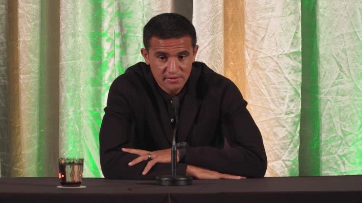 Tim Cahill names his favourite Socceroos goal
