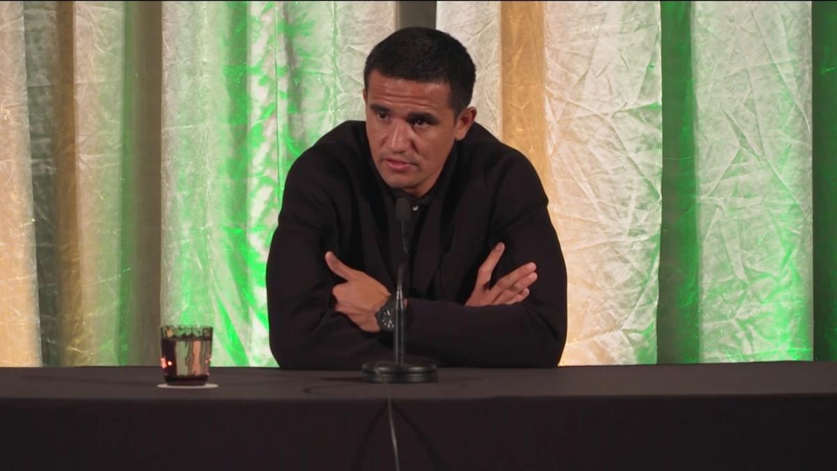 Tim Cahill thanks Australia