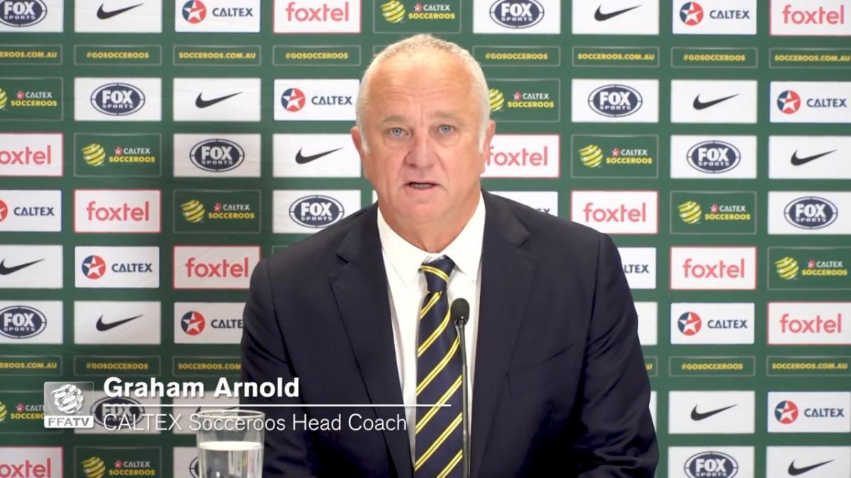 Presser: Graham Arnold - Full conference