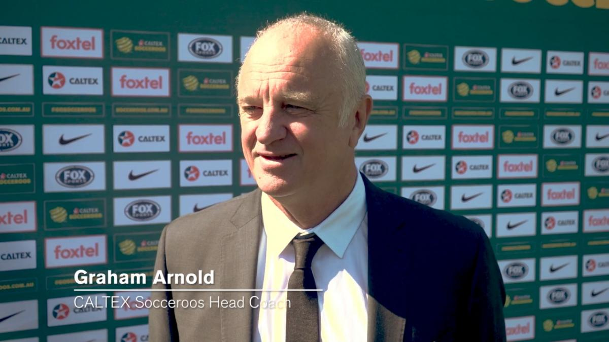 One-on-one: Graham Arnold