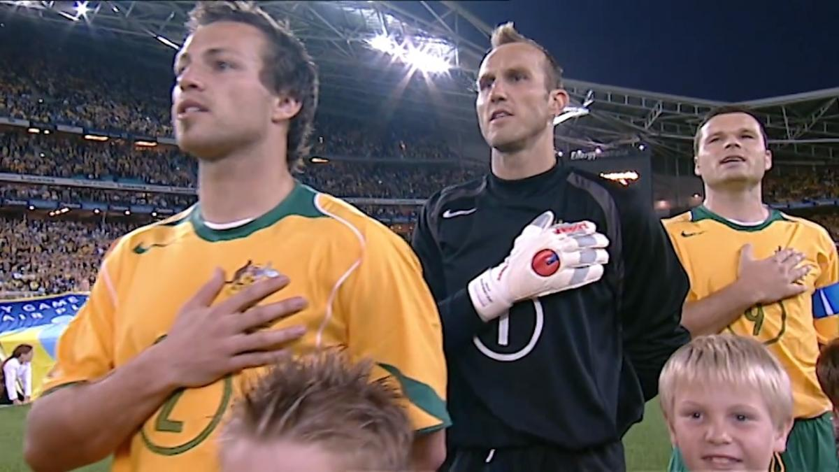 Anthems: Socceroos v Uruguay in FIFA World Cup 2006 play-off