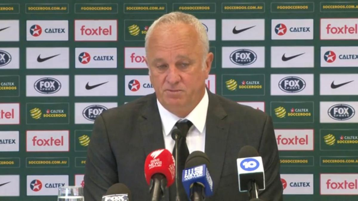 Full Press Conference: Graham Arnold