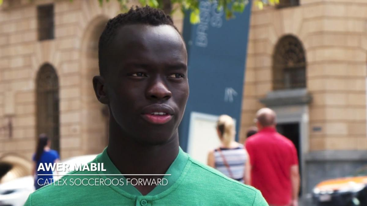 Awer Mabil speaks about Graham Arnold influence