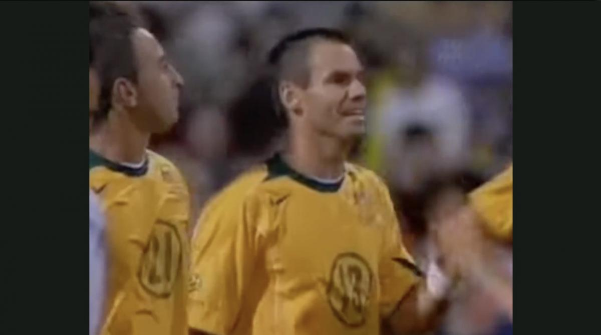 Ante Milicic scores brace for Socceroos in 2005