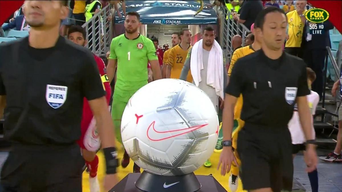 Full-time highlights: Australia v Lebanon