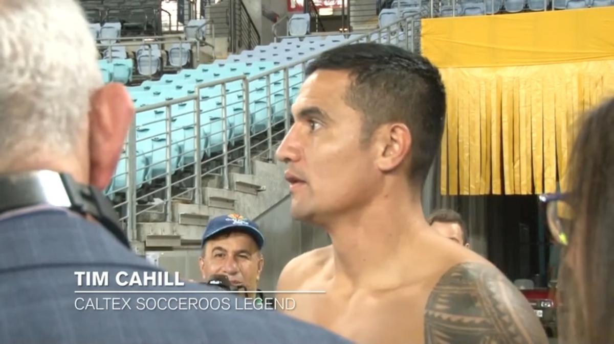 Post-match press interview: Tim Cahill