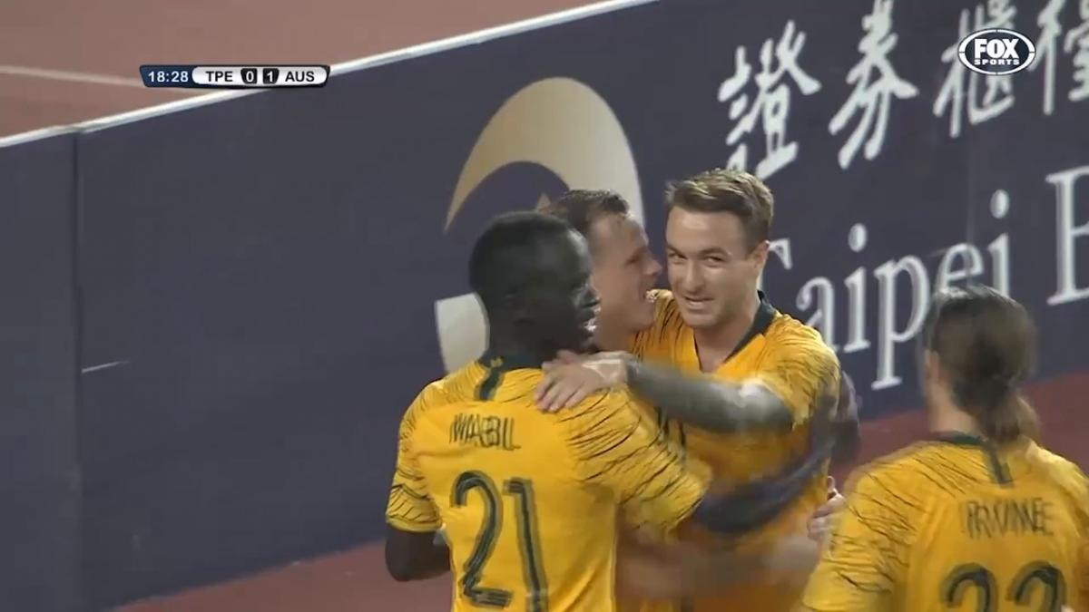 Brad Smith's superb assist against Chinese Taipei to celebrate his birthday