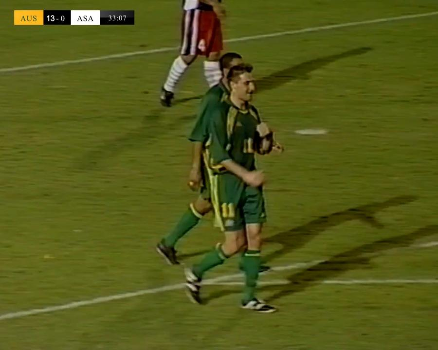 David Zdrilic scores eight goals against American Samoa