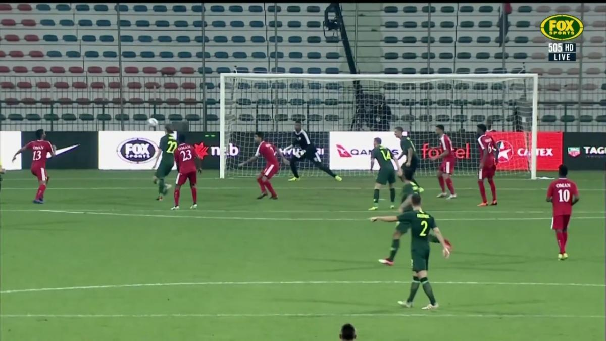Jackson Irvine makes it five for the Caltex Socceroos