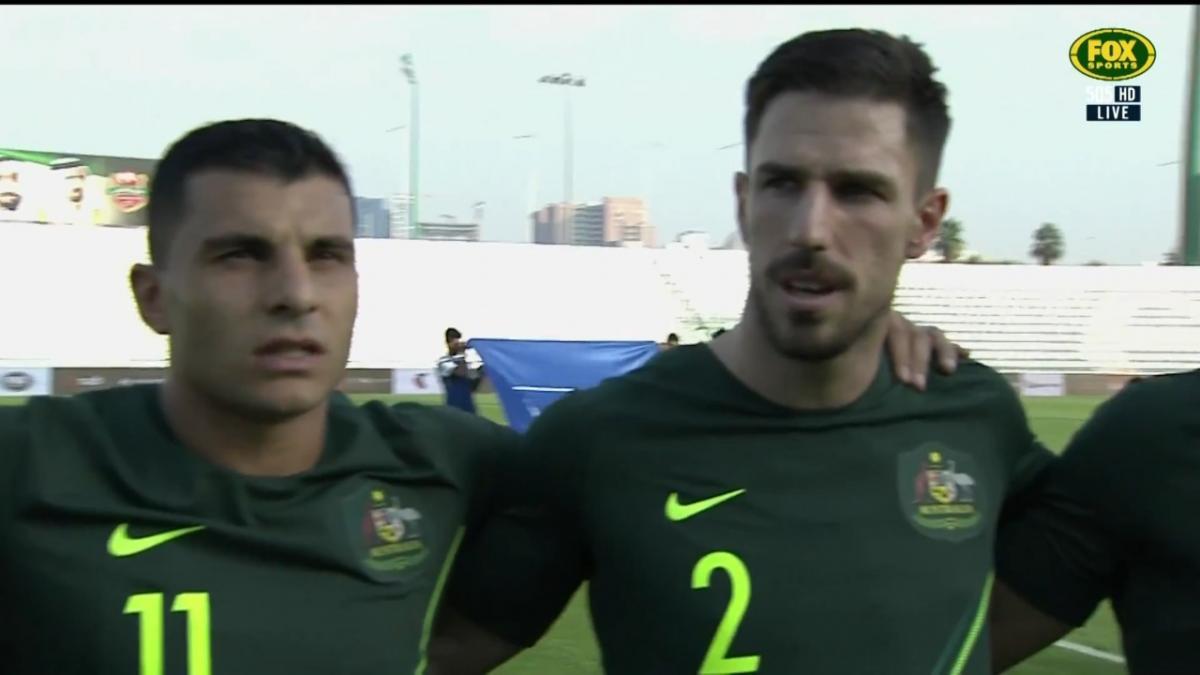 Full-time highlights: Australia v Oman