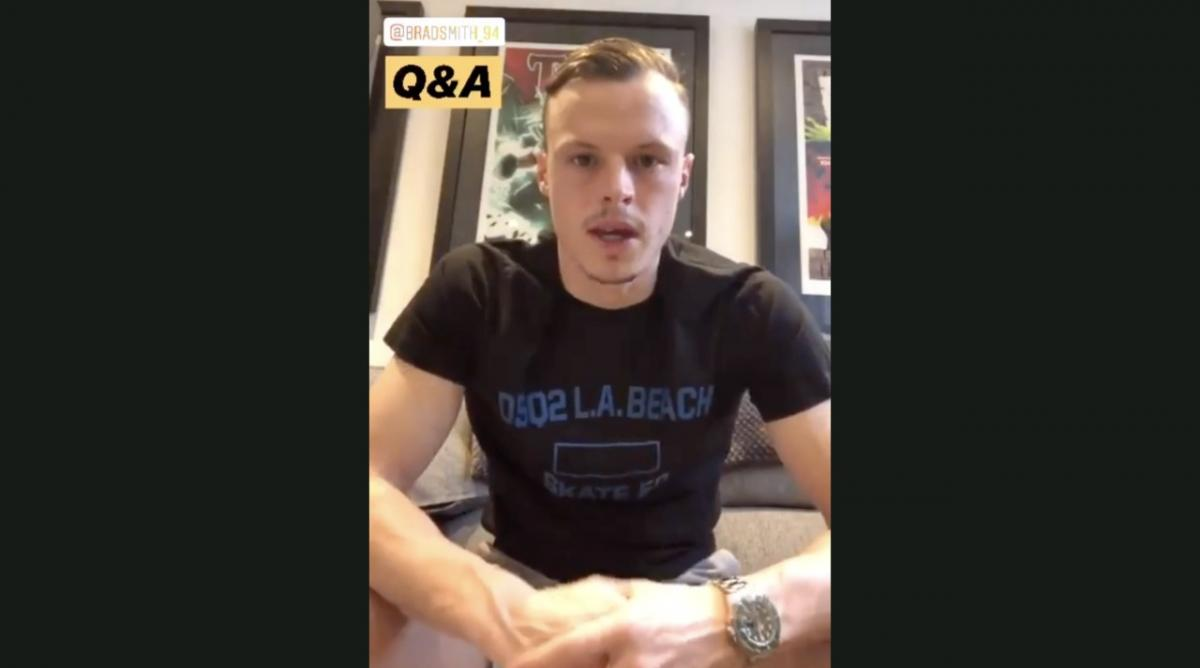 Brad Smith Q&A on Instagram
