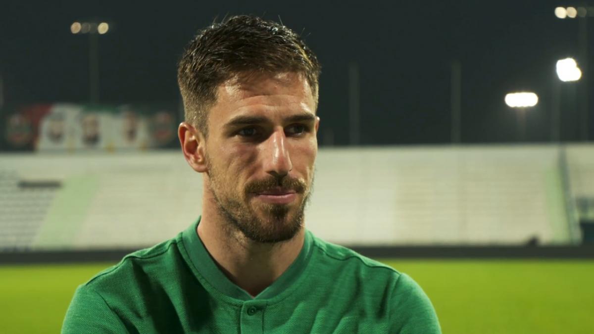 Milos Degenek interview post Oman friendly