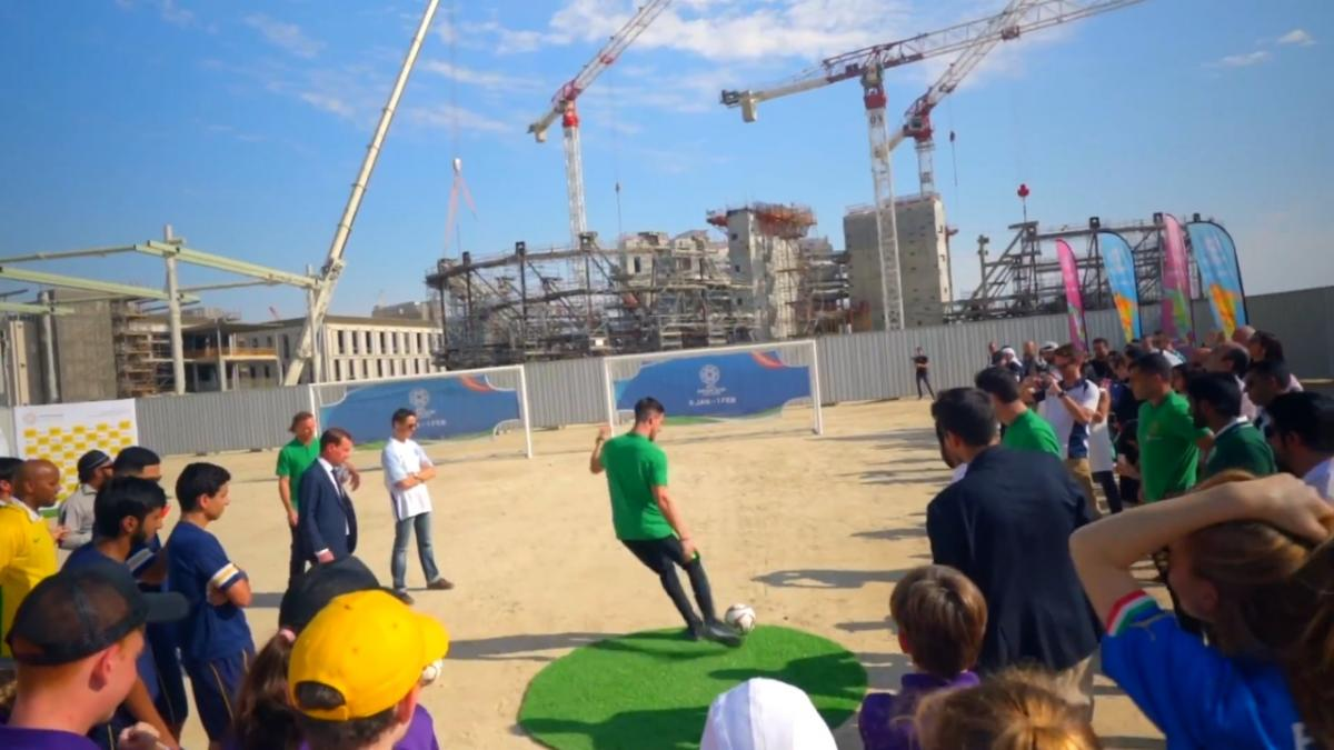 Expo 2020 Dubai: Socceroos Visit Kicking Off