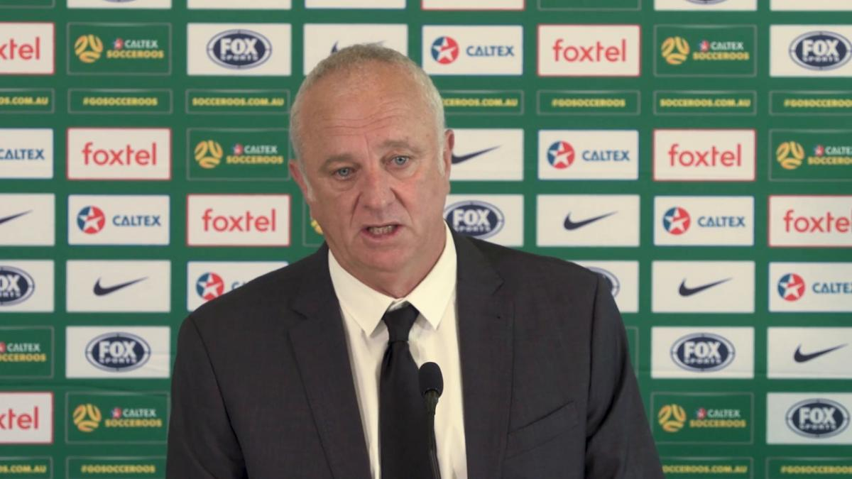 Presser: Caltex Socceroos Asian Cup squad of 23 announcement