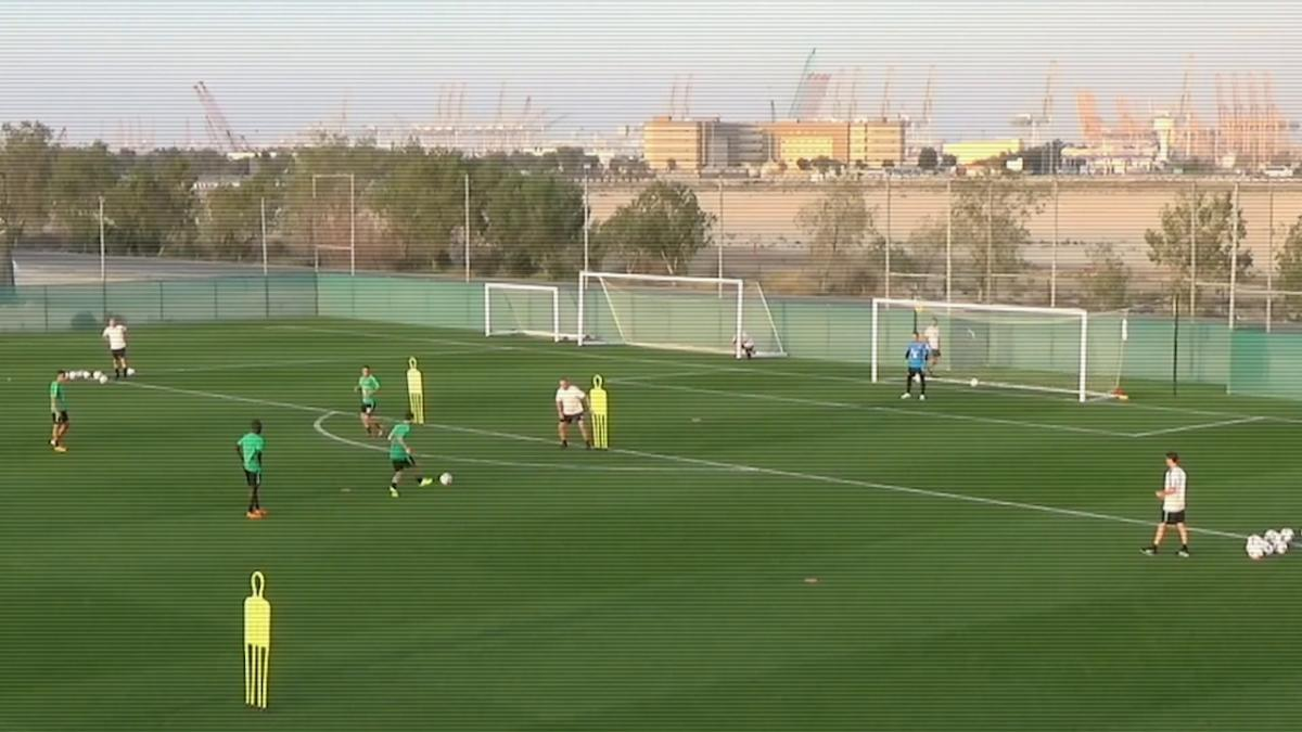 Socceroos Finishing At Training