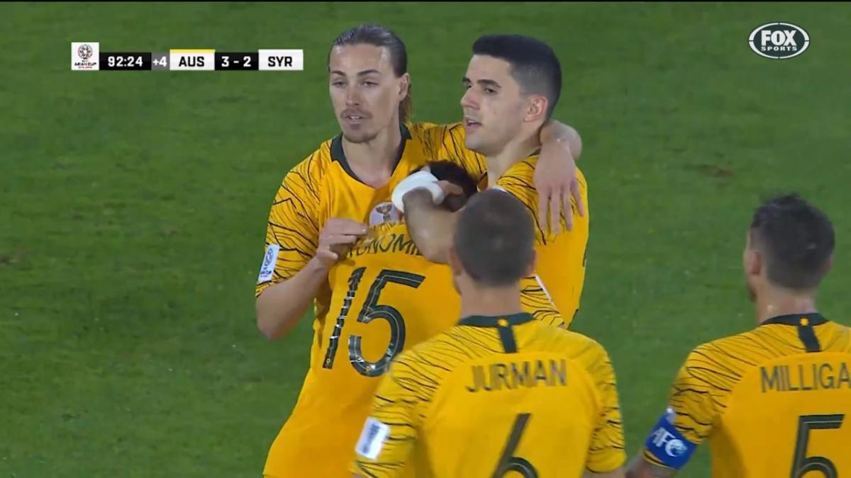 Tom Rogic blasts match-winner against Syria at AFC Asian Cup 2019