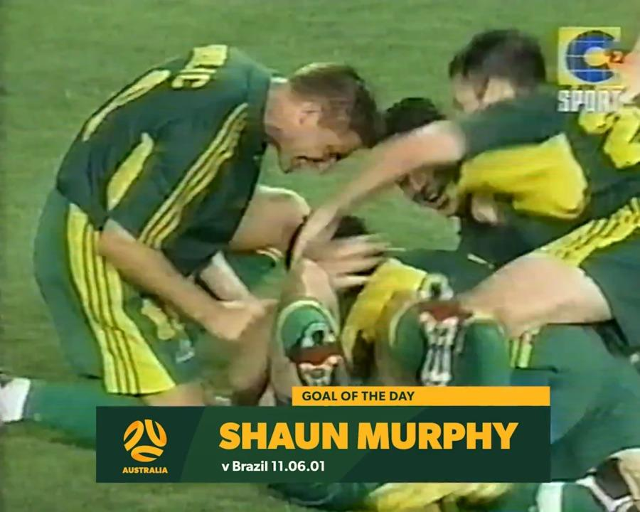 Shaun Murphy's goal sees Socceroos beat Brazil to third at 2001 Confederations Cup