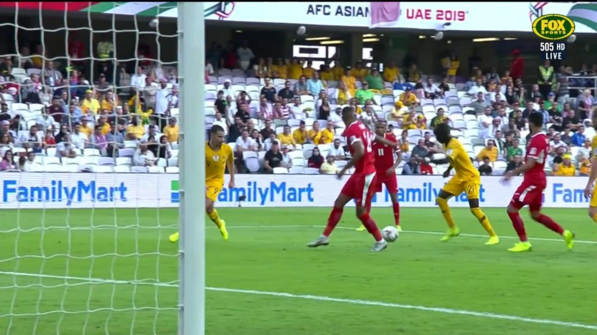 Awer Mabil rattles the woodwork