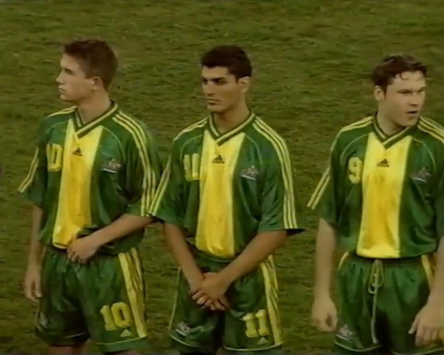 Full match: Socceroos v World Stars in 1999