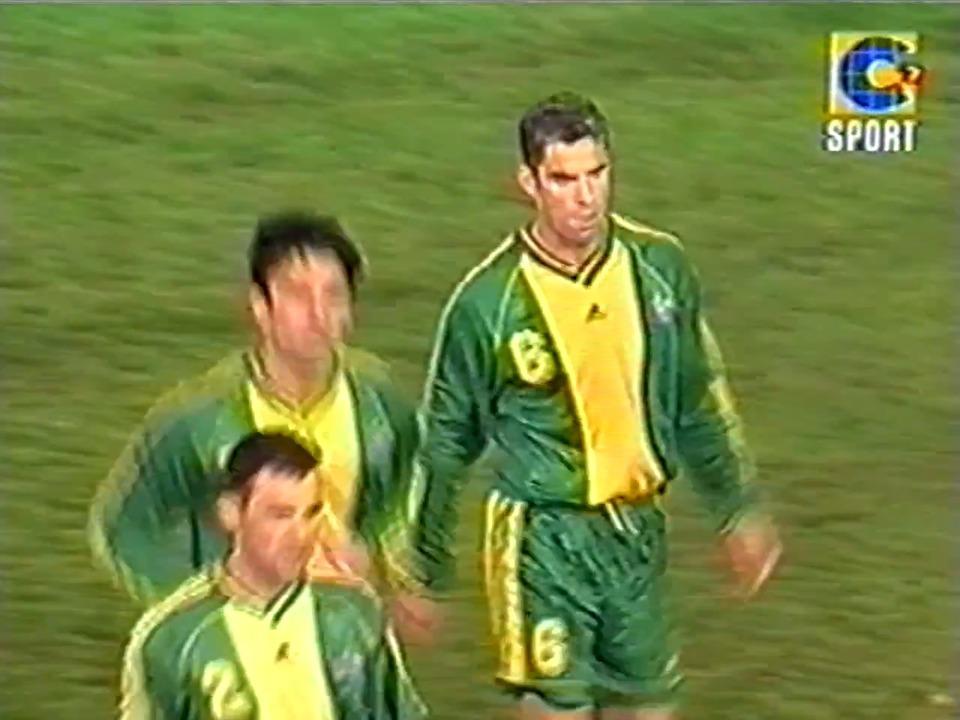 Full match: Socceroos v Paraguay in 2000