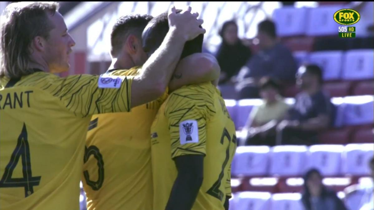 Awer Mabil makes it two for the Socceroos