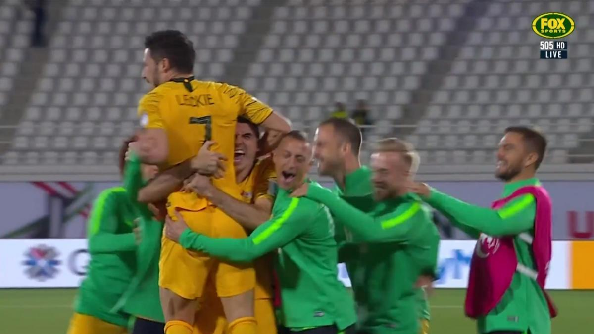 Full-time highlights:  Socceroos v Uzbekistan